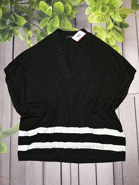 Оверсайз пуловер безрукавка с кашемиром