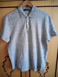 поло футболка H&M, XL на L