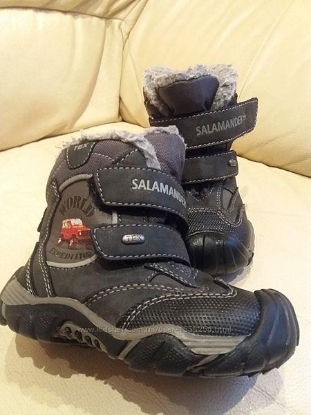 Мембранные термо ботинки Salamander