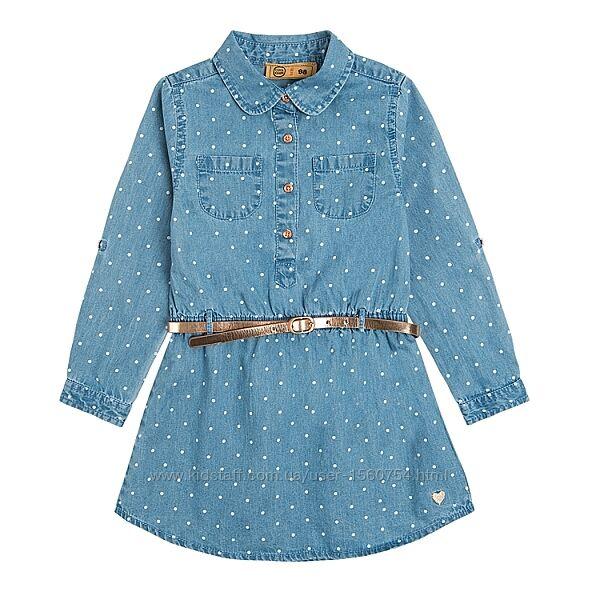 Джинсовое платье размер 98-104 Cool club