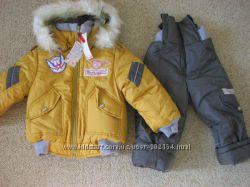 Куртка и комбинезон для девочки зимние тм FUNNY SUNNY BUNNY