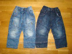 Модные джинсы, штанишки Next, H&M и др. на 12-18, 18-24  мес.