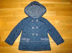 Легкая демисезонная курточка стеганка  Debenhams на 2-3 года  рост 98 см