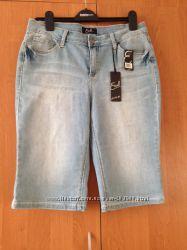 Бриджи джинсовые стрейчевые Earl Jean новые