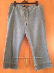 Капри облегченные джинсовые