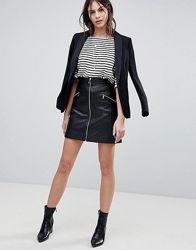 Костюм женский стильная кофта пайетки и юбка из эко кожи Kol1260 ... | 250x196