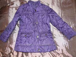 Красивая стеганная куртка F&F