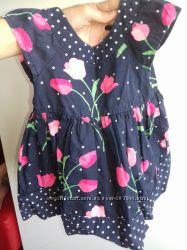 Красивое платье Gymboree с тюльпанами