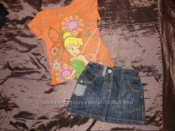 Красивая джинсовая юбка I love Next