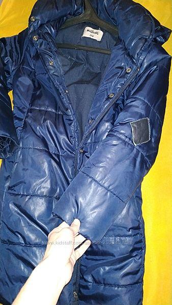 Стильное синее пальто wojcik