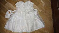 Очень красивое нарядное платье айвори