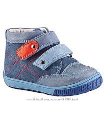 НОВЫЕ Кожаные демисезонные ботиночки Lapsi, 21 р-р