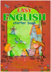 Easy English Starter book, твёрдая обл, Т. В. Жирова, В. В. Федиенко. Школа