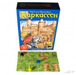 Настольная игра Каркассон. Средневековья. Стратегия. Расширения и дополнени