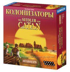 Настольная игра - Колонизаторы Базовая, расширения и дополнения.