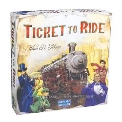 Ticket to Ride Билет на Поезд. Игра для компании, семьи. Оригинал. Скидки.