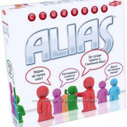 Игра Аліас Семейный. Alias Family. Tactic. Оригинал. Бесплатная доставка.