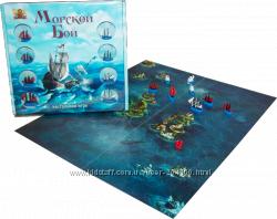 Морской бой - настольная игра. Для детей и взрослых.
