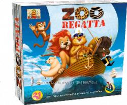 Настольная игра для детей Зоорегата. От 4 лет. Скидки