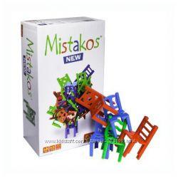 Настольная игра Стульчики Mistakos. Игра на развитие ловкости и внимания