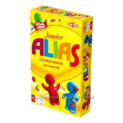 Настольная игра Алиас для детей или Скажи иначе компактный дорожный вариант