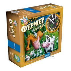 Настольная игра СуперФермер и Барсук. Детская стратегия про животных