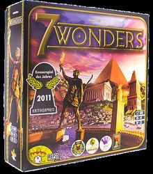 Настольная игра 7 чудес 7 wonders