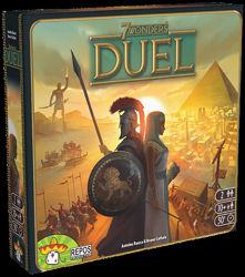 Настольная игра 7 Чудес Дуэль 7 Wonders Duel
