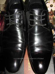 Кожаные туфли 42р