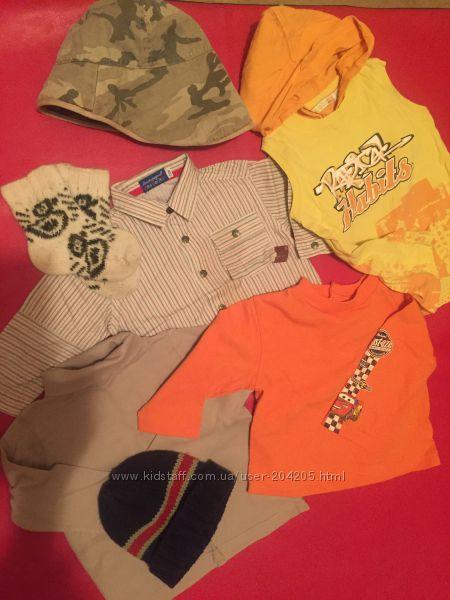 Пакет одежды на 1-2 годика