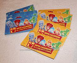 Приглашения на день рождения - детские на любую тематику - Фиксики