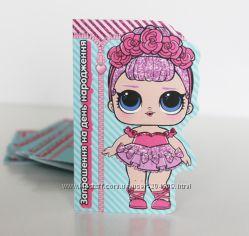Все для оформления детского дня рождения в стиле куклы ЛОЛ LOL кенди бар