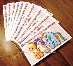 Все для оформления детского дня рождения в стиле мф Мy little pony