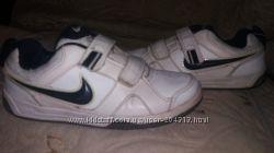 Кожаные кроссовки Nike 32раз