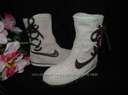 Бомбезные  сапоги Nike 32р, ст 21 см. Мега выбор обуви