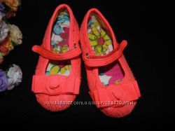 Яркие балетки Next 215р, ст. 13 см. Мега выбор обуви и одежды