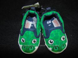 Моднячие пинетки H&M 1617р, ст 11 см. Мега выбор обуви