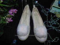 Гламурные балетки Primark 3334р, ст. 20 см. мега выбор обуви и одежды