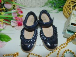 Шикарные туфельки F&F 279р, ст 17 см. мега выбор обуви