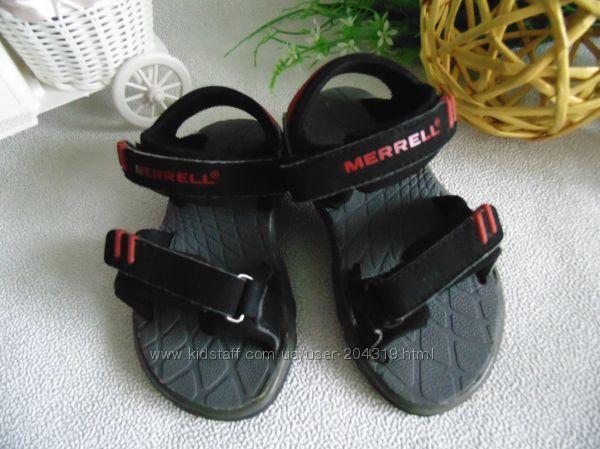 Крутые босоножки merrell 26р, ст 16, 5см. мега выбор обуви и одежды