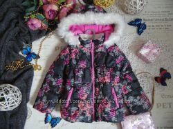 3т. Яркая куртка OshKosh Зимние розы
