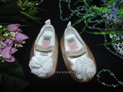 Гламурные туфли пинетки Primark cт 10, 5см. мега выбор обуви и одежды