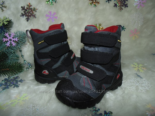 Термоботинки Viking 23р, ст 15. 5 см. мега выбор обуви и одежды