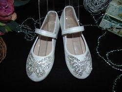 Нарядные туфли балетки Primark