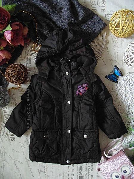 Удлинённая утеплённая демисезонная куртка IMPIDIMPI