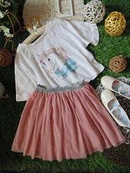 Модная фатиновая юбка YD
