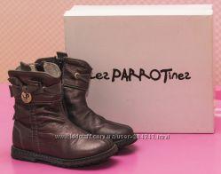 Деми ботиночки кожа Италия Les Parrotines р 24   стелька 15 см