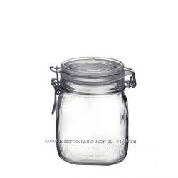 Емкости для хранения продуктов и консервации  Bormioli Fidoот от 0, 25-5л