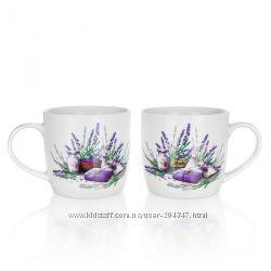 Серия керамической посуды Lavender, пр-во Banquet  Чехия.