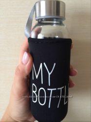 Бутылка для воды стеклянная 300 ml